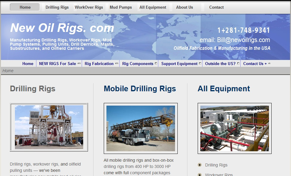 oil and gas websites